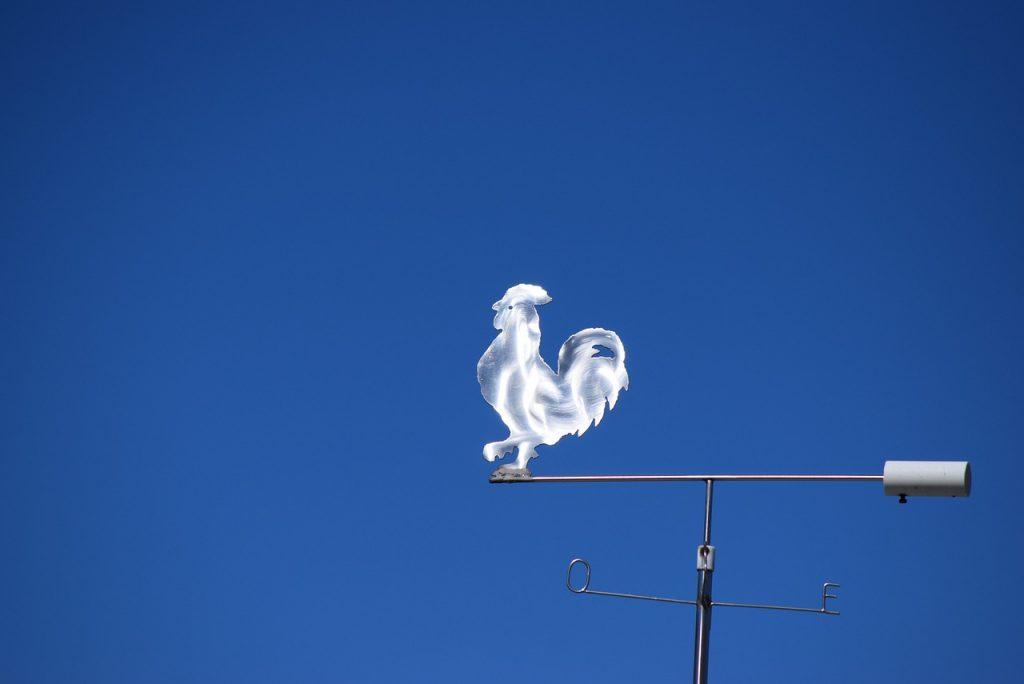ветропоказател - символ на седми лунен ден
