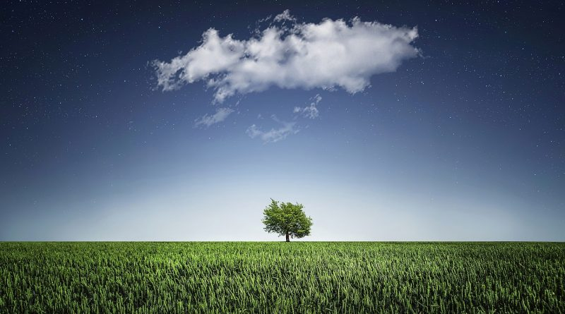 облак - символ на шести лунен ден
