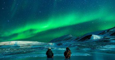 Какво представлява северното сияние