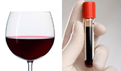 Червено вино - кръв